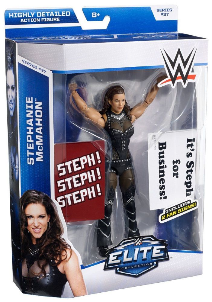 Wwe Elite Collection Action Figure Series 37 Stephanie